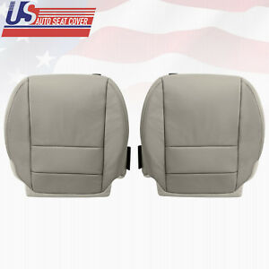 Driver And Passenger Bottom For 2007 To 2013 Acura Mdx Leather Upholstery Taupe