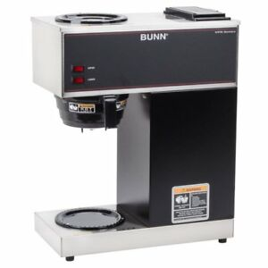 Bunn Vpr 12 Cup Pourover Coffee Brewer With 2 Warmers 33200 0000