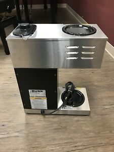 Bunn Commercial Coffee Maker Vpr Black Series Model 33200 0001 Nice Condition