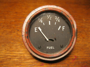 Original Willys Mb Ford Gpw Jeep Fuel Gauge Nice