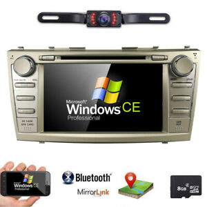 8 toyota Camry For 2007 2011 Gps Navigation Car Radio Stereo Dvd Player back Cam