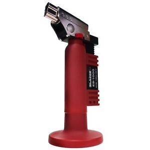 Blazer Es1000 Angled Head Butane Micro Torch Red New