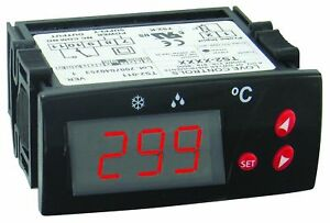 Dwyer Love Series Ts2 Digital Temperature Switch Red Display 110 Vac Su New