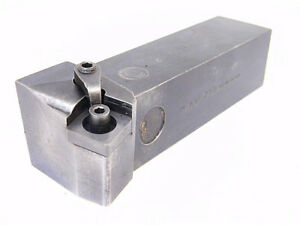 Used Rtw Carbide Insert Indexable Turning Tool Msknr 246d shank 1 1 4