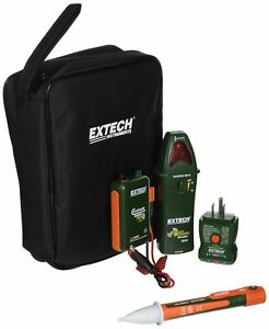 Extech Cb10 kit Handy Electrical Troubleshooting Kit With 5 Functions Tes New