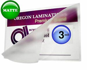 Oregon Lamination Hot Laminating Pouches Menu pack Of 100 3 Mil 12 X 18 New