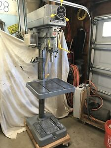Clausing 2274 Vertical 20 Drill Press 300 2000 Rpm Variable Spindle Speed