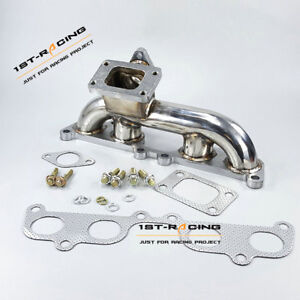 Turbo Manifold Header T3 Flange For Tacoma 2rz fe 2 4l T100 4runner 3rz fe 2 7l