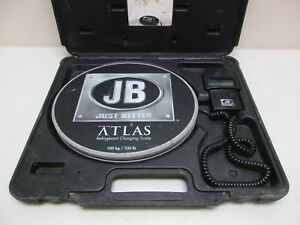 Just Better Jb Atlas 220 Lb Capacity Refrigerant Charging Scale 713 500 g37