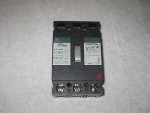 Ge Ted134025 General Electric Circuit Breaker 25 Amp 3 Pole 480 Volt