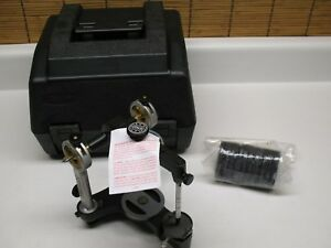 New Hanau Model 96 H 2 Semi Adjustable Dental Articulator Lab Wax Dentures