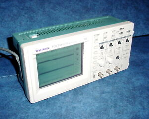 Tektronix Tds 210 60mhz Two Channel Real Time 1gs Per Sec Digital Oscilloscope