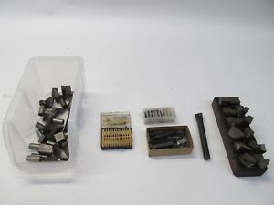 Lot Of Cutting Mill Lathe Machinist Tools
