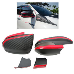 Fits Toyota Hilux Revo Fortuner 16 17 18 Lh Rh Wing Side Mirror Cover Red Black
