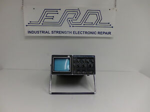Philips Pm 3212 25mhz Dual Channel Oscilloscope For Parts