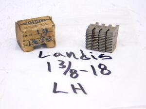 Light Used Landis Left Hand Thread Chasers 1 3 8 X 18ns