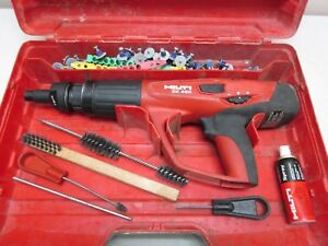 Hilti Dx 460 Powder Actuated Nail Gun W x 460 f10 Nose Nice Works Great