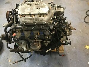 2007 2008 Acura Tl Type s Engine And Transmissions 6speed j35a8