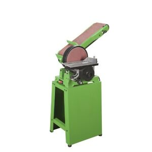 Belt And Disc Sander Combination With Stand And Miter Gauge 6 In X 9 In