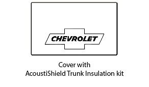 1933 1934 Chevrolet Coupe Trunk Rubber Floor Mat Cover With G 010 Chevy Bowtie