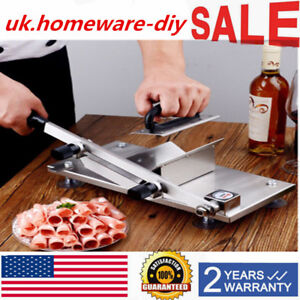 Manual Handle Stainless Steel Frozen Meat Slicer Beef Slicing Cutting Machine