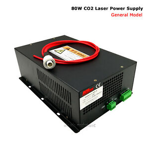 Hq 80w Co2 Laser Tube Power Supply Laser Engraver Cutter Ac 110v Input us