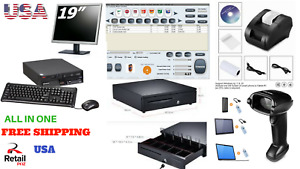 Low Price Full Pos All in one Point Of Sale System Combo Kit Retail Store
