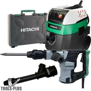 Hitachi H41mb 8 2 Amp Sds max Demolition Hammer W hepa Vac dust Collection New