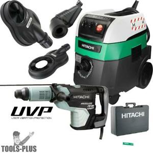Hitachi Dh52mey 2 1 16 Sds Max Rotary Hammer W hepa Vac dust Collection New