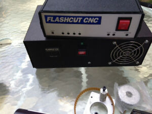 Flashcut Controller With Sherline Cnc Lathe
