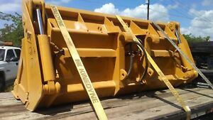 Cat Caterpillar 966g H C D F Gp 4 In 1 Hydraulic Side Dump Bucket