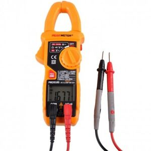 Clamp Digital Meter Ac Multimete Tester Dc Voltage Rms Amp Auto Scan Lcd Screen