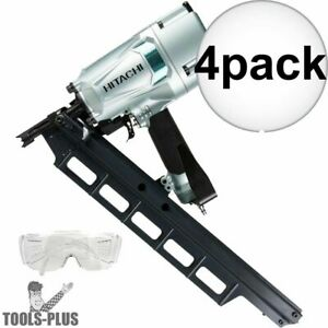 Hitachi Nr83a5 3 1 4 Round Head Plastic Collated Framing Nailer 4x New
