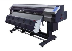 Wide Format Printer 1 8 Mts 70 Inches Eco Solvent Sublimation Usa Seller