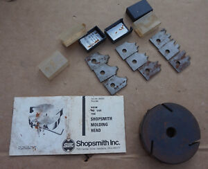 Shopsmith Molder Head W Knives Set Bonus