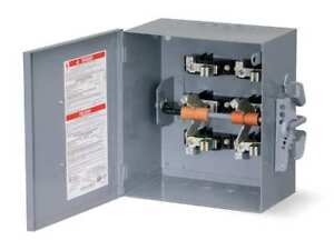 200 Amp 240vac Double Throw Safety Switch 3p