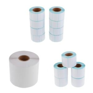 Adhesive Thermal Label Sticker Supermarket Price Label Direct Print Stickers
