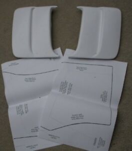 71 Challenger Side Scoops Louvers 70 71 72 73 74 New 100203