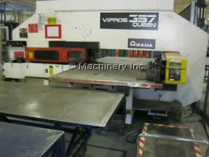 Amada Vipros 357 Queen Cnc Turret Punch 1998