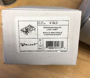 Vigilant V slc Expansion Analog Loop 250pt Fire Alarm Vslc New Edwards