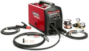 Lincoln Electric Multi Process Stick Mig Tig Welder Welding Tool 140 Amp Le31mp