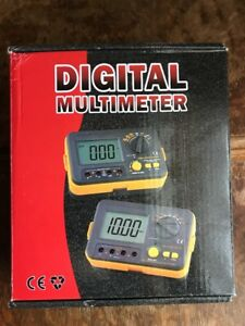 Vc60b Digital Insulation Tester Megger Megohm Meter