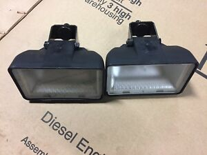 2 New Oem Case 1840 1845c Headlights 347277a1 Late Style
