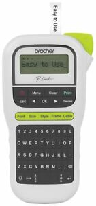 Brother P touch Easy Portable Label Maker pth110 Pth110 Labeler Easy To Use