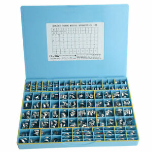 Dental 340 Pcs Orthodontic 1st Molar Bands Roth 022 Welded Conv Sgl Buccal Tubes