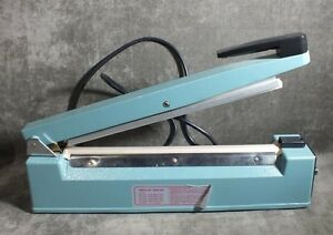 12 Impulse Hand Sealer Machine Plastic Sealer Manual Ms15