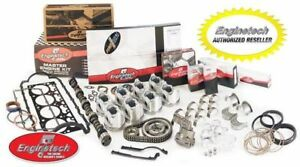 Hpk350b Chevy Sbc 350 Late Performance Master Overhaul Kit Flat Top