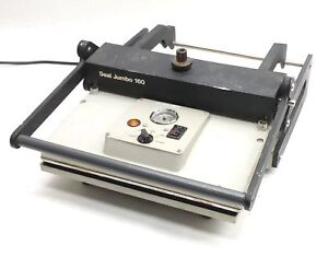 Seal Jumbo 160 745b Dry Mounting Laminating Heating Press Heat Transfer Photo