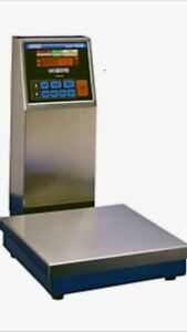 Doran New Model 4205 Stainless Steel Washdown Digi bar Checkweighing S