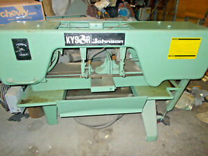 Kyson Johnson Kj10 Horizontal Band Saw